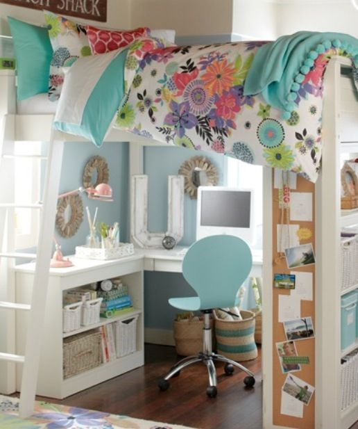 Apple A Day Organizes a Teenager's Troubles Away… Making a Teen Room a Super Fun Hideaway!
