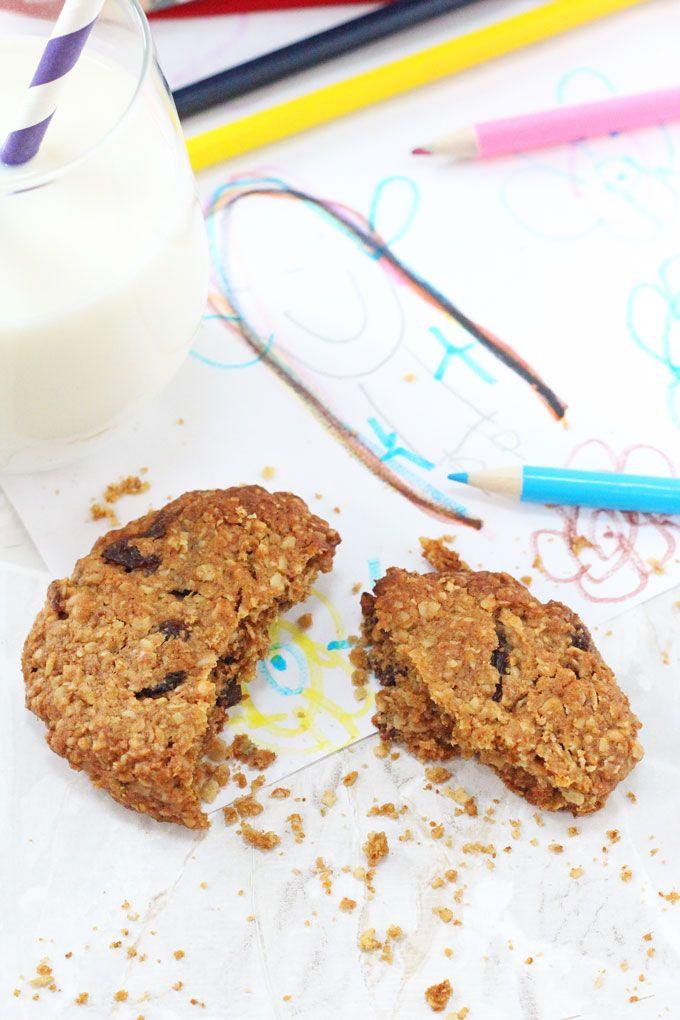 After School Oat and Raisin Cookies
