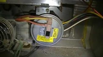 limit switch on carrier furnace - YouTube