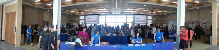 Balboa Capital has a booth at the California State University San Marcos career fair #jobs #finance #employment #financing #internship