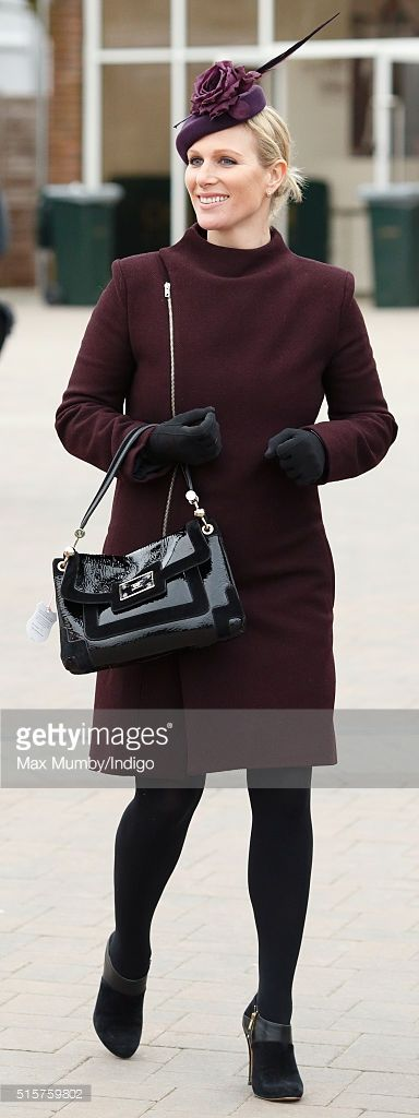 Zara Phillips attends day 1 of the Cheltenham Festival on March 15, 2016 in Cheltenham, England. (Photo by Max Mumby/Indigo/Getty Images)