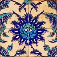 003 Antique Fragment De Morgan  - Anna Chandler