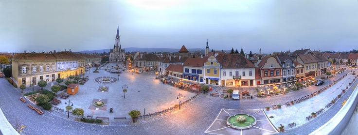 Kőszeg - a lovely town in western Hungary. Rich in historic sights. #Hungary