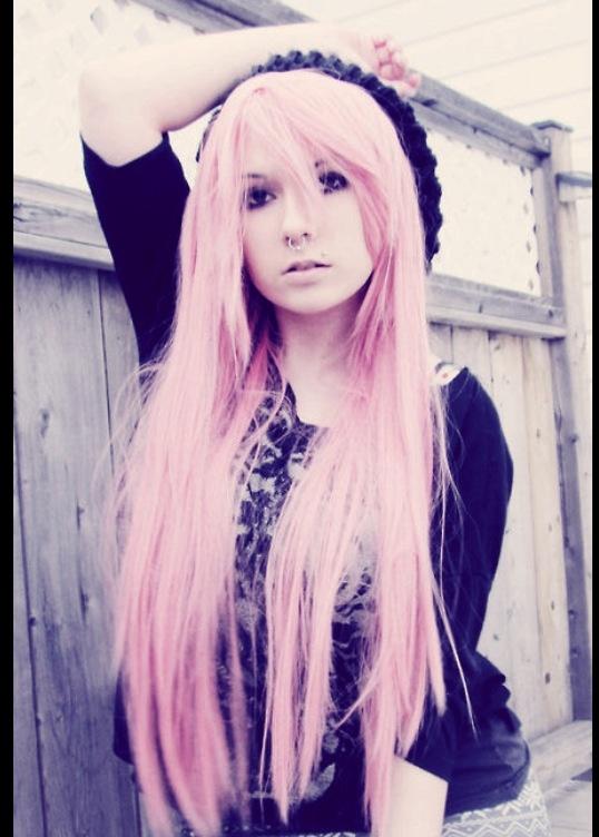 Pastel goth hairstyles!