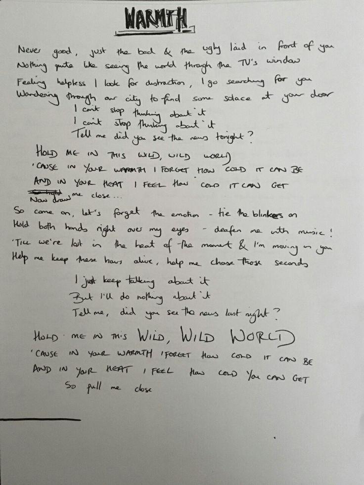 Bastille flaws lyrics video