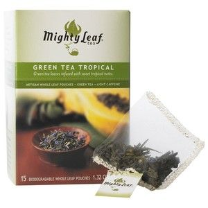Mighty Leaf Tea Company makes the best teas I have ever tried. Mighty Leaf specially created the silken Tea Pouch filled with the world's finest whole tea leaves, herbs, fruits and flavor too big for ordinary tea bags.