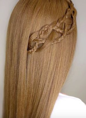 Side Braid Tutorial For Long Hair The: 4 Strands Braid Hair Tutorial. #hairstyletutorials