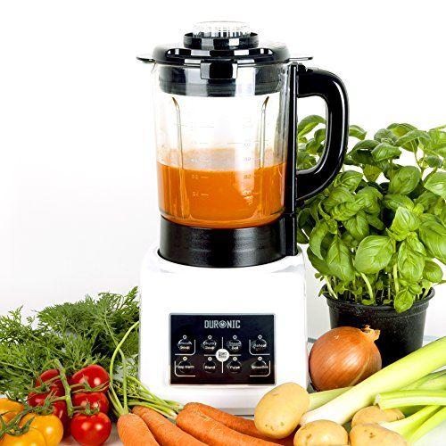 Duronic BL89 Suppenbereiter / Suppenkocher / Standmixer / Smoothie Maker / Garfunktion/ Warmhaltefunktion / Multifunktionaler Mixer mit einem 1,75L Glaskrug