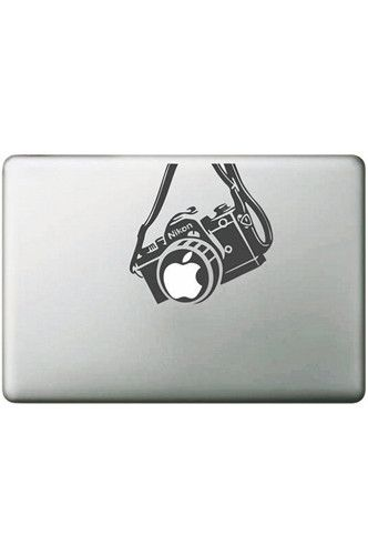 PFLAPSTICKERC MacBook Nikon Camera Sticker Decal