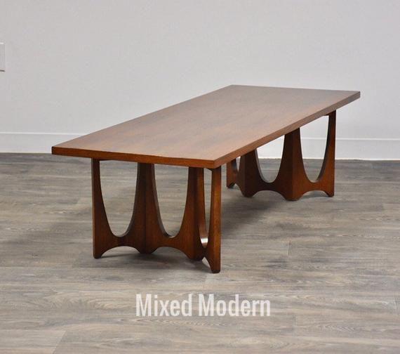 Broyhill Brasilia Walnut Coffee Table Walnut Coffee Table Modern