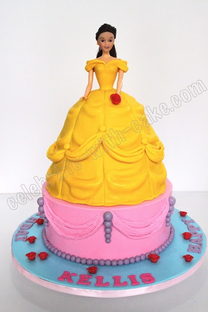The 77 best images about Cakes - Princess Belle on ...
