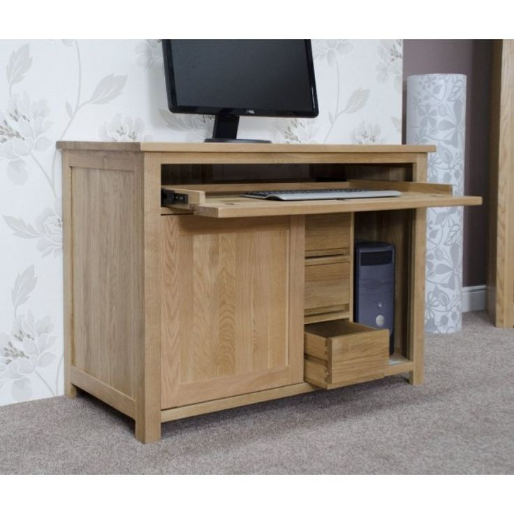 Hidden Computer Desk   Perfect To Hideaway All Your Study Items. Delivered  Fully Assembled 2