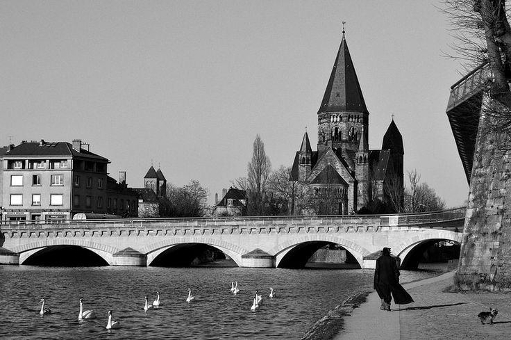 La Moselle - Metz (57), France