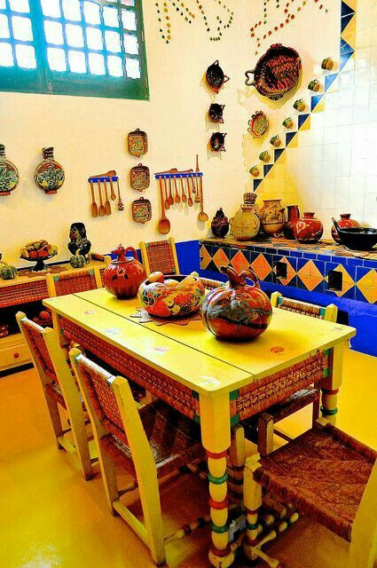 Isn T This Frida Kahlo Quot S Kitchen Everything Mexico