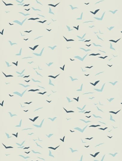Flight, a feature wallpaper from Scion, featured in the Melinki collection.