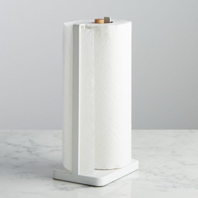 Yamazaki Tosca White Paper Towel Holder Reviews Crate And Barrel Paper Towel Holder Towel Holder Crate And Barrel