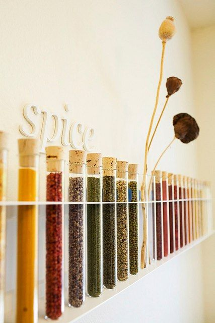 I adore this! I would love to organise all of my spices this way.