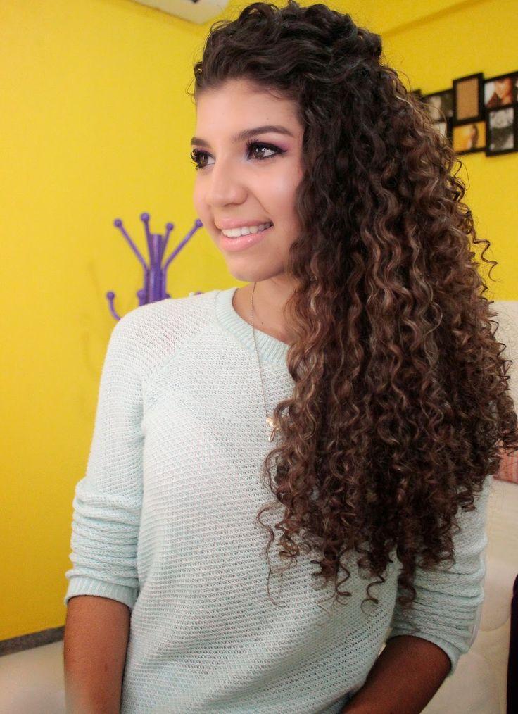 BLOG | Jessica Melo: Penteado Cabelo Cacheado - Lateral com Topete