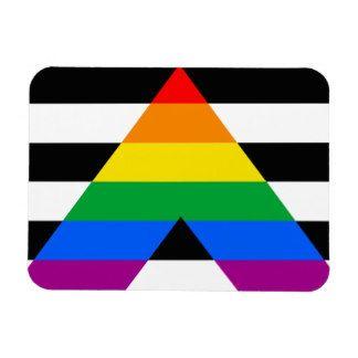 straight ally flag!