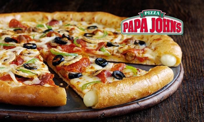 #PapaJohn's Pizza Offers Better Pizzas With Better Ingredients. Taste For Yourself With Fast, Quality Pizza Delivery & Takeaway. Order Online Now. Deals on #VoucherBucket    https://www.voucherbucket.co.uk/stores/papa-johns/