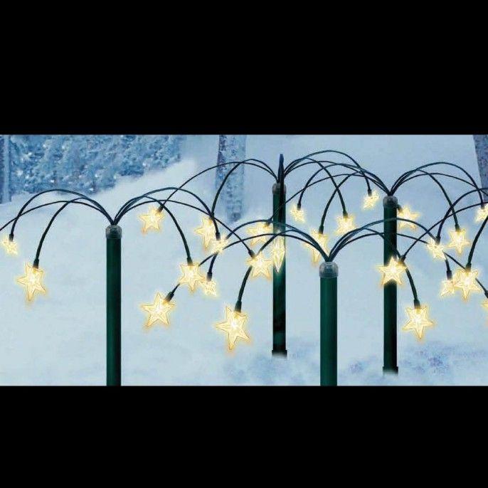 30 Star Garden Stake Light Poundstretcher