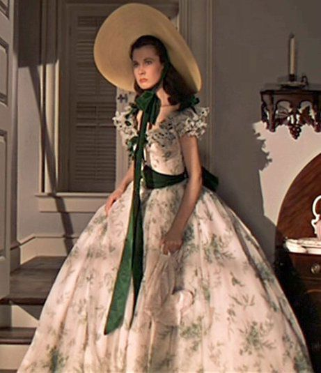 Love Gone with the wind! I think this is my favorite dress she wears too. Even though it's SO scandalous!
