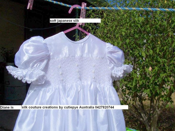 japanese silk lined gowns smocked Reduced $130 ring 0427820744