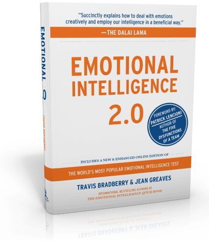 Endorsed by the Dalai Lama, this award-winning bestseller is an emotional intelligence book with a single purpose: increasing your EQ. Online EQ test included, plus great emotional intelligence information and a step-by-step plan for improving your emotional intelligence.