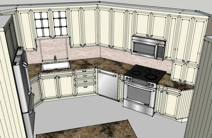 Drawing Kitchen (No. 1)