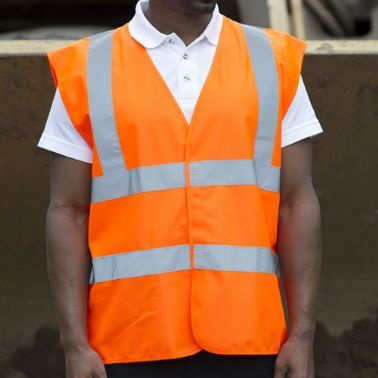 High Visibility Orange Vest