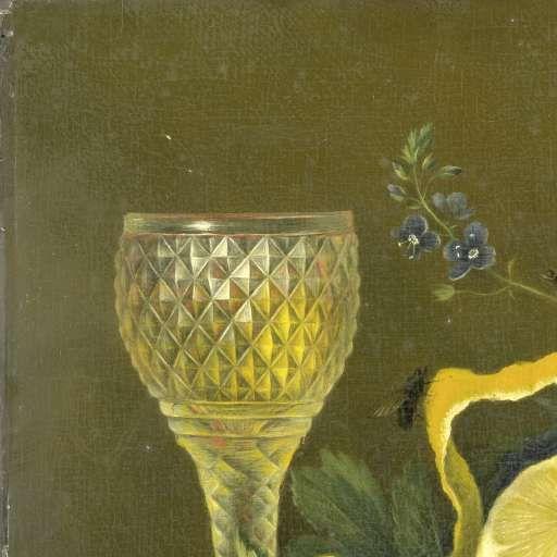 Stilleven met citroen en geslepen glas, Maria Margaretha van Os, 1823 - 1826 - Stilleven-Verzameld werk van Marjolein Moonen - Alle Rijksstudio's - Rijksstudio - Rijksmuseum