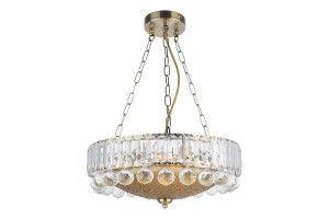 Lampa wisząca IRSINA 3pł. patyna Reality 323003-04