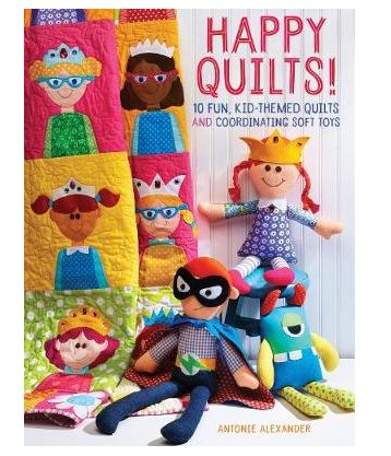 Here's a great book for the crafty mum -  Author Antonie Alexander's quirky, vibrant quilts are designed with matching softies -- portable, loveable buddies, hours of fun for the mum who loves to create for her family and just $40.95 from Whitcoulls