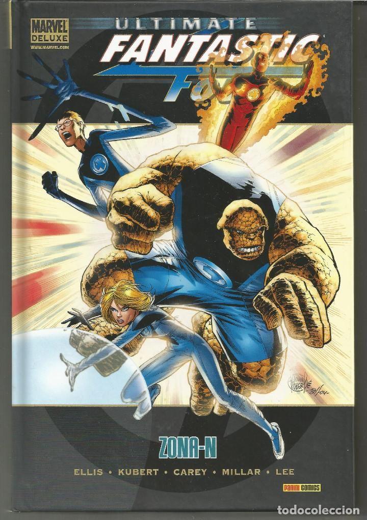 Marvel Deluxe. Ultimate Fantastic Four 2 Zona-N Panini Cómics