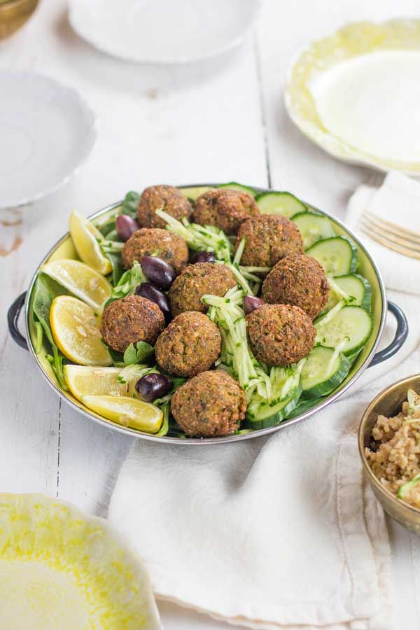 Prepare yourself for the BEST darn falafel you have ever eaten! We have discovered the secret to making light and fluffy truly authentic falafel.