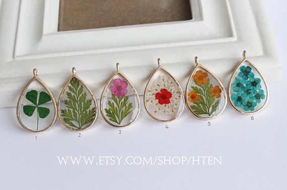5x Silicone Flower Leaves Pendants Mold Resin Casting Mould for DIY Jewelry