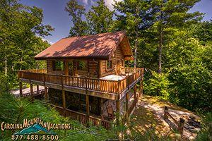 Black Bear Pond Cabin in Fontana North Carolina