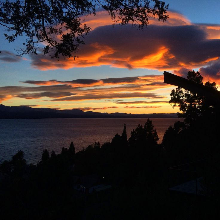 Bariloche sunset in Argentina