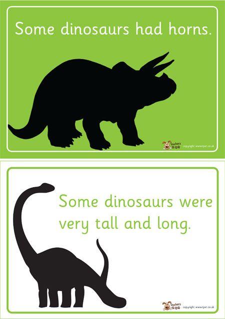 Dinosaur Fact File Template Ks1