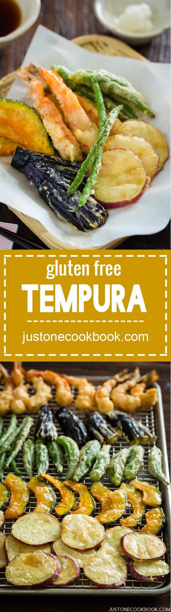 Gluten Free Tempura | Easy Japanese Recipes at http://JustOneCookbook.com