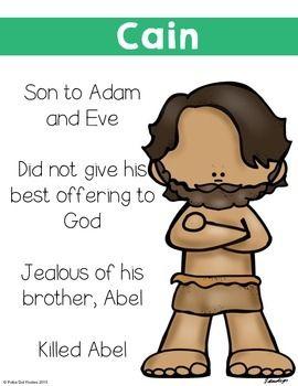 Cain-and-Abel-2050771 Teaching Resources - TeachersPayTeachers.com