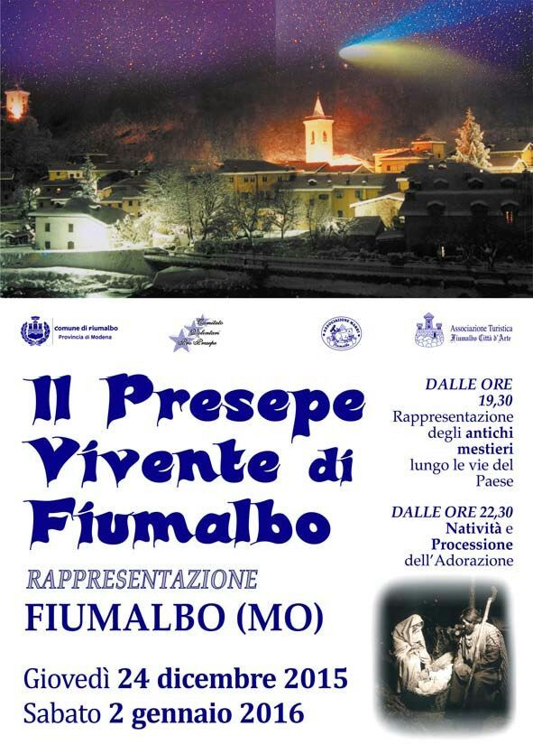 Presepe vivente a Fiumalbo 2015