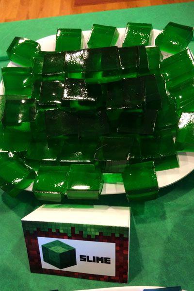 Minecraft Food - Slime                                                                                                                                                     More