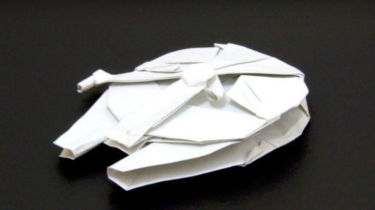 Aprende a hacer un Halcon Milenario de Origami. | Fusion Freak
