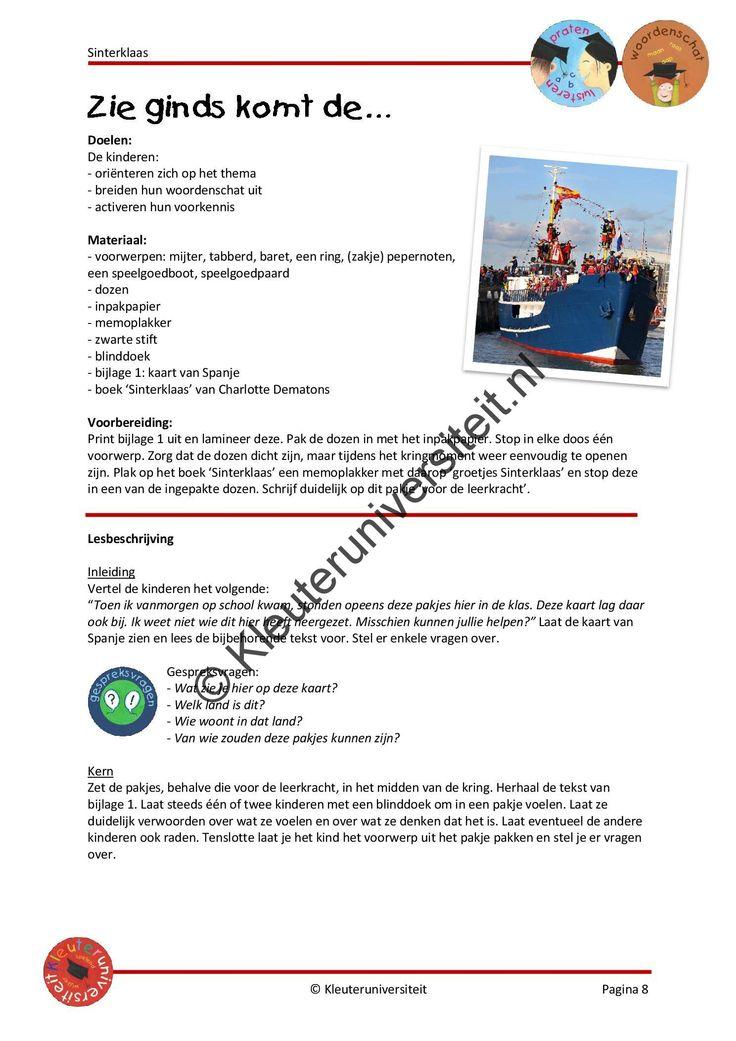 Project Sinterklaas   Kleuteruniversiteit