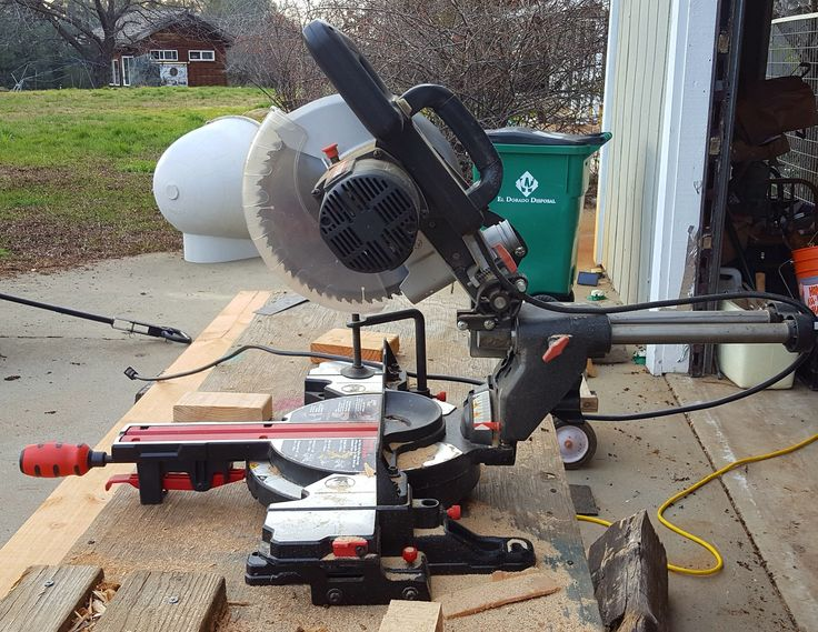 Best  compound mitre saw for me.  Its cuts wonderfully.  And i can lift it pretty easily  off its little pull along wagon, onto work table.