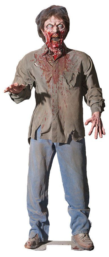 Animated Zombie - Animated Halloween Prop - Halloween Decoration                                                                                                                                                                                 More