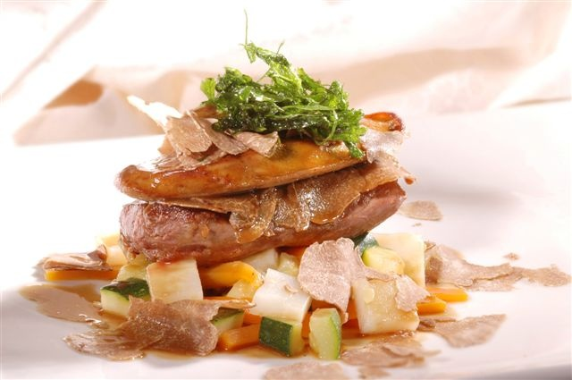 Istrian truffles taste magnificent with lamb