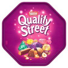 Quality Street Chocolates Tub
