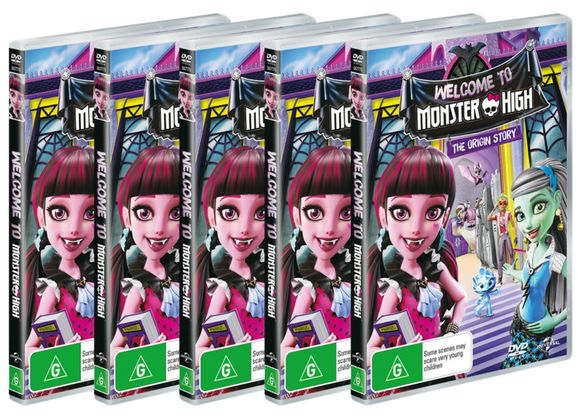 WIN WELCOME TO MONSTER HIGH DVD  Competition Ends:  31/10/2016  Prize:  DVD copy of Welcome to Monster High  Sponsor:  Universal Sony Pictures Home Entertainment  Prize Value:  $29.95